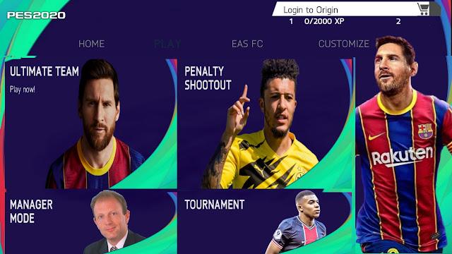 FIFA 21 MOD PES 2021 Andriod Offline 800MB Best Graphics ...