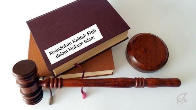 Kedudukan kaidah fiqh dalam hukum Islam