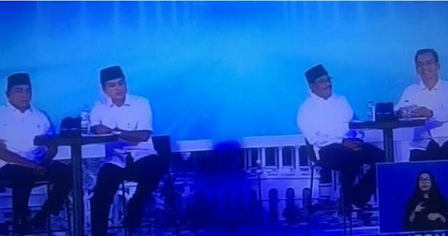 Debat Pilgubsu: Edy Rangkul Ketua Adat, Djarot Berantas Mafia Tanah