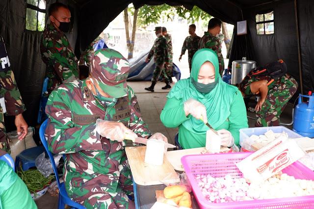 KodimKaranganyar - Ramadhan Berkah Kodim Karanganyar Gelar Dapur Lapangan