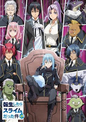 Anime: Nueva imagen de la segunda temporada de Tensei shitara Slime Datta Ken