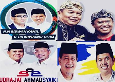 Biodata Lengkap Pasangan Calon dan Wakil Gubernur di Pilgub Jabar 2018