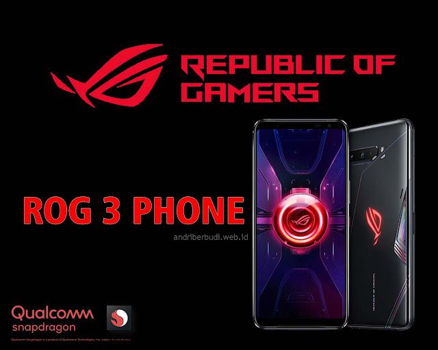 ASUS ROG Phone 3 - Handphone Gaming Terbaik Saat Ini