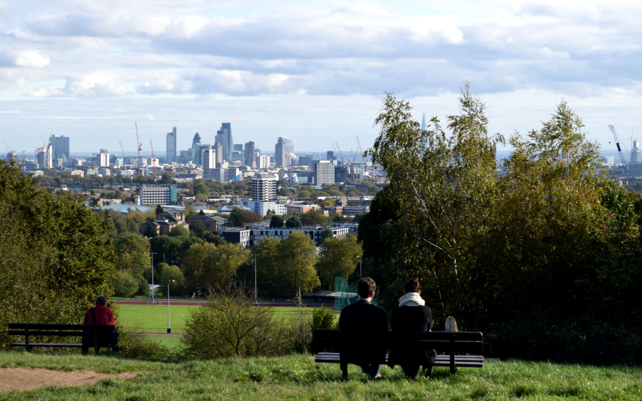 The Best Free Views of London Parliament Hill Hampstead Heath