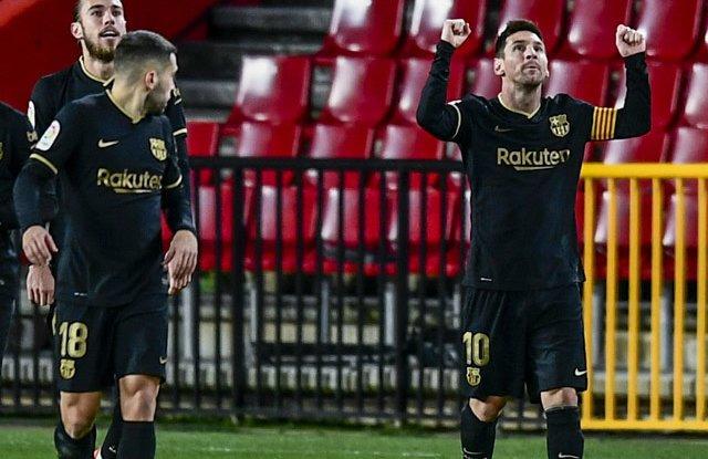 Reaksi Si Anak Ketika Messi Mencetak Gol vs Granada