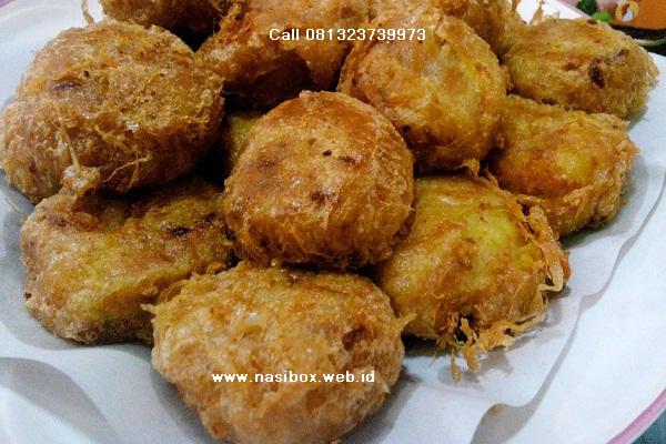 Resep perkedel kentang nasi box patenggang ciwidey