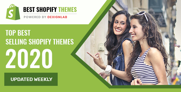 Top Best Selling Shopify Themes 2020 - Updated Weekly
