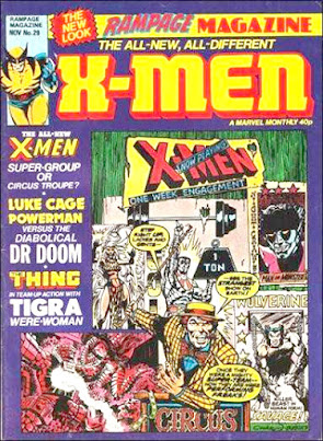 Rampage Monthly #29, the New X-Men