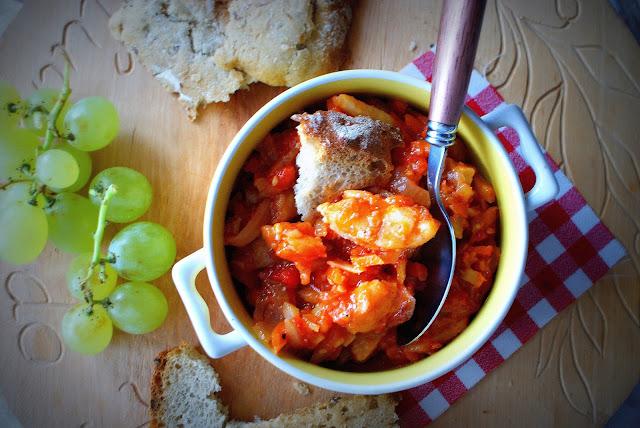 ryba po grecku,dorsz,danie z ryb,