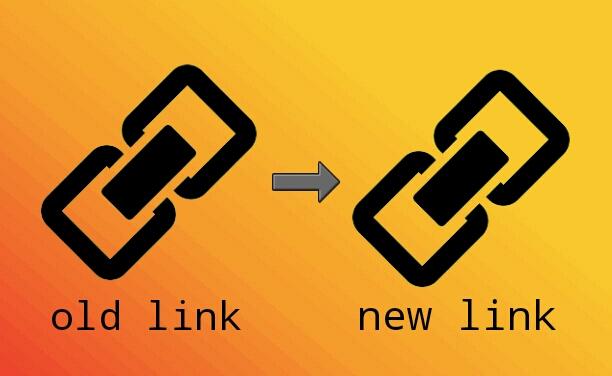 redirect otomatis link lama ke baru