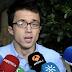 Íñigo Errejón acusa al PSOE de dejarse arrastrar por Ciudadanos al terreno del PP