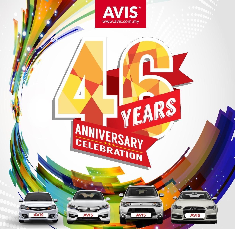 Motoring Malaysia Avis Malaysia Celebrates 46 Th Anniversary By 46