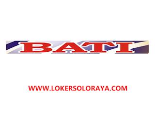 Loker Solo Raya dan Jawa Tengah Agustus 2021 di PT Bintang Asahi Textile Industri