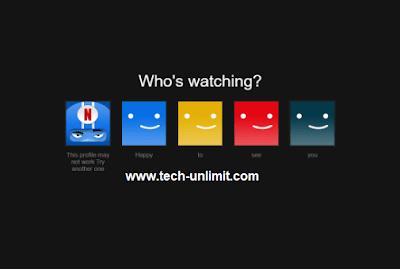 موقع يوزع حسابات Netflix
