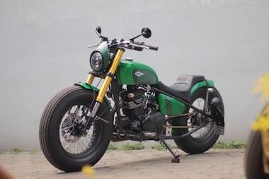 Modifikasi Motor Kawasaki W175 Pak Jokowi