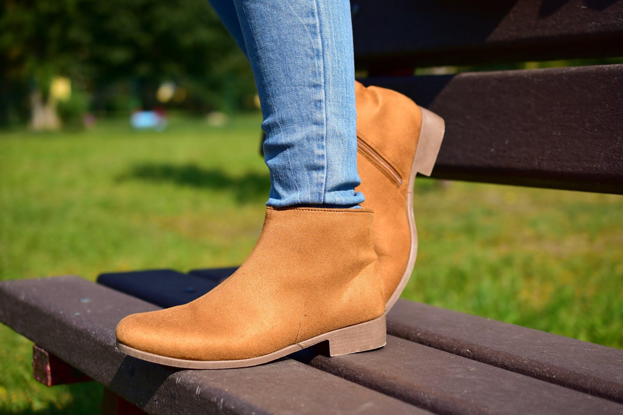 Bonprix outfit hnete jesenné topánky