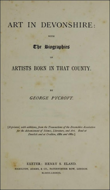 Art in Devonshire: With the Biographies of Artists Born in that County