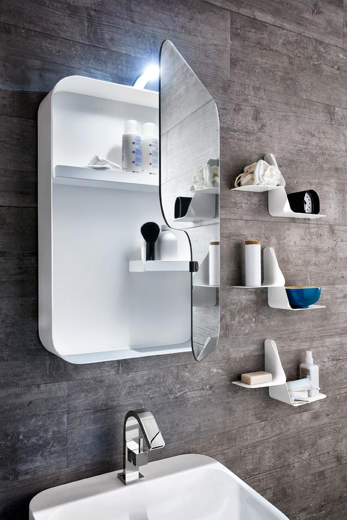Ideia criativa azul na casa de banho Decoraç u00e3o e Ideias -> Decoração De Casas De Banho Em Azul