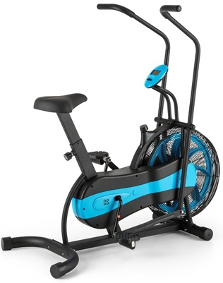 CapitalSports Stormstrike 2k: bicicleta elíptica con generador de resistencia a través del aire