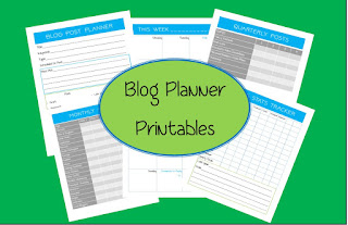 free printable blog post planner for sewing and craft bloggers