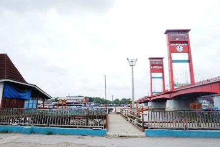 objek wisata jembatan ampera palembang