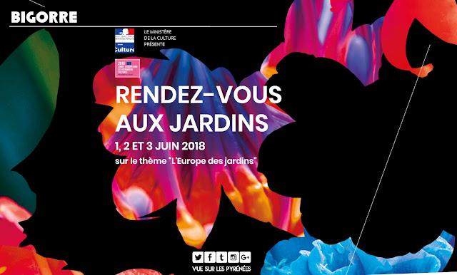 Rendez-vous aux jardins Occitanie 2018