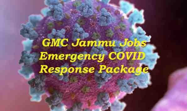 GMC Jammu, Associated Hospitals Notified 100 Vacancies of Junior Staff Nurse Under ECRP