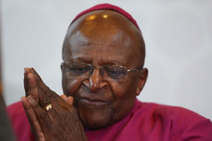 Archbishop Desmond Tutu hospitalised due to 'stubborn infection'
