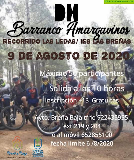 """BREÑA BAJA: DH 2020 """"Barranco de Amargavinos"""""""