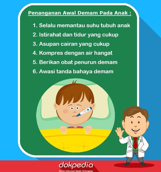 Penanganan awal demam pada anak