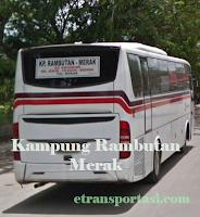 Tiket Bus Primajasa Kampung Rambutan ke Merak, Serang, Cilegon
