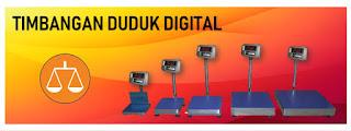 Timbangan Duduk Digital