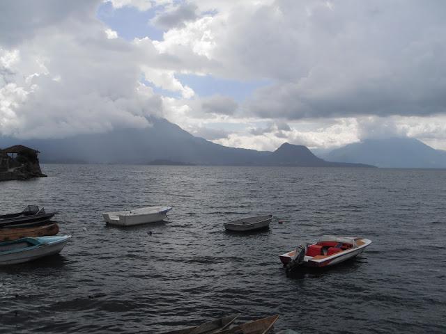 Lake Atitlan San Antonio Palopó Guatemala