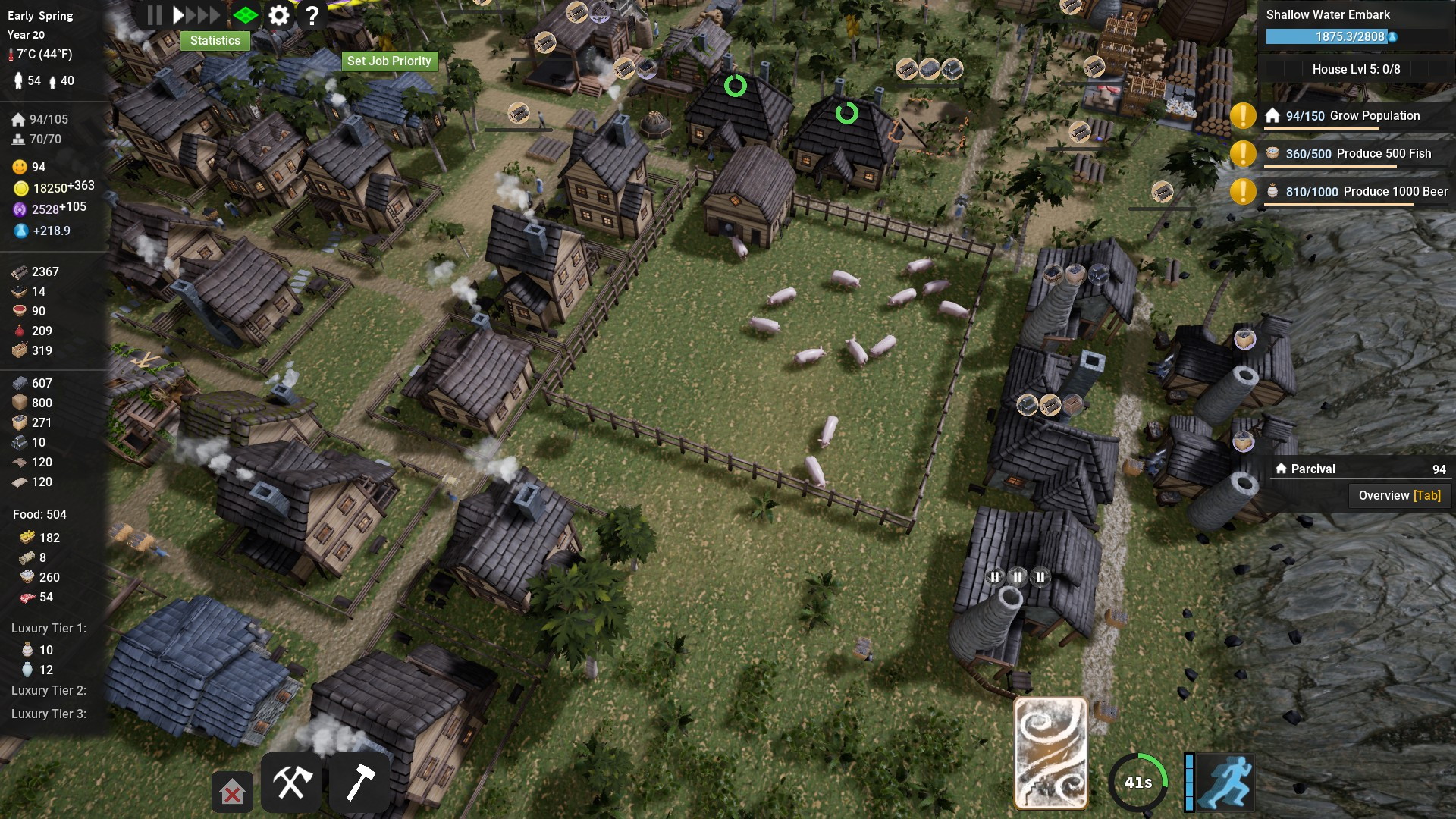 Kingdoms Reborn Village