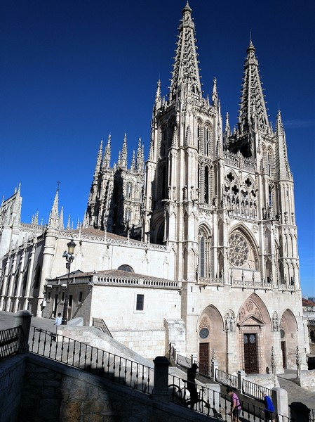 Catedral de Burgos, vista lateral