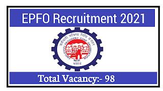 EPFO Recruitment 2021: