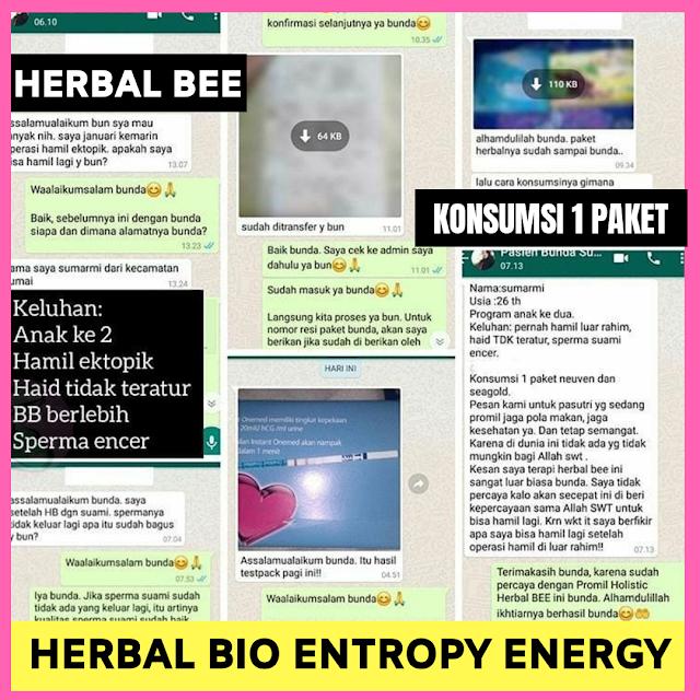testimoni herbal bee