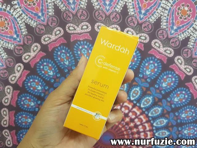 Serum Wardah C-Defense Dengan Vitamin C