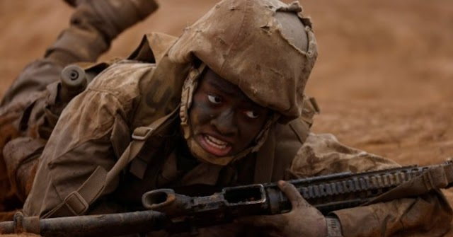 Photo: Breaking the notion of gender inequality in the Marine Corps recruits women in the US Armed Forces
