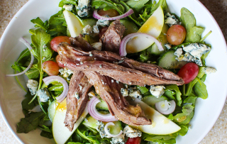 Apple Beef Salad Recipe [ Cooks Recipes ]