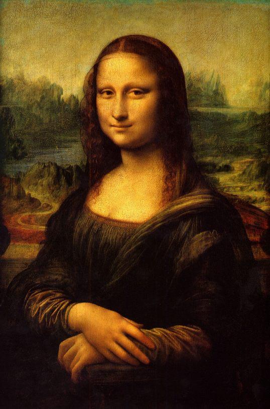 Mona Lisa, la Gioconda - by Leonardo da Vinci