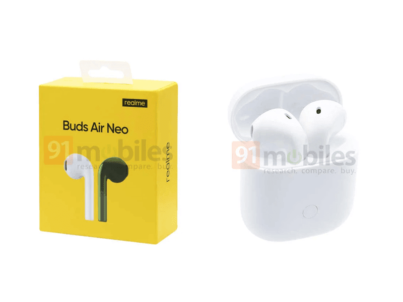 Alleged Realme Buds Air Neo affordable True Wireless earphones leaks