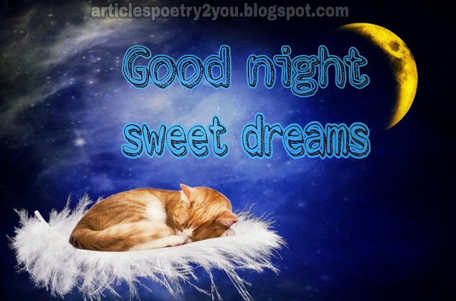 Lovely good night dreams