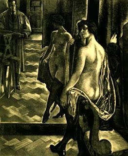 Нивинский Игнатий Игнатьевич (1881-1933) «Женщина перед зеркалом»