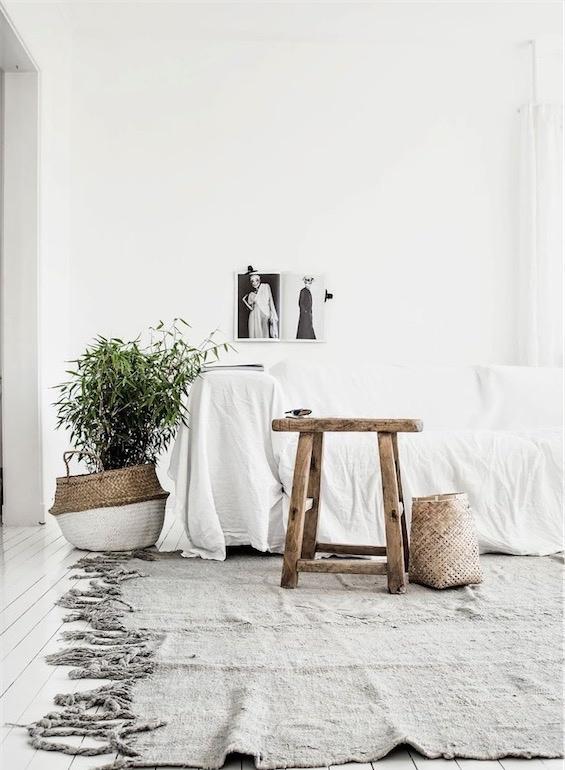 plantas en cestas de fibra chicanddeco