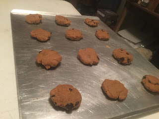 Old fashioned peanut butter chocolate chip cookies, the best chewy peanut butter cookie ever