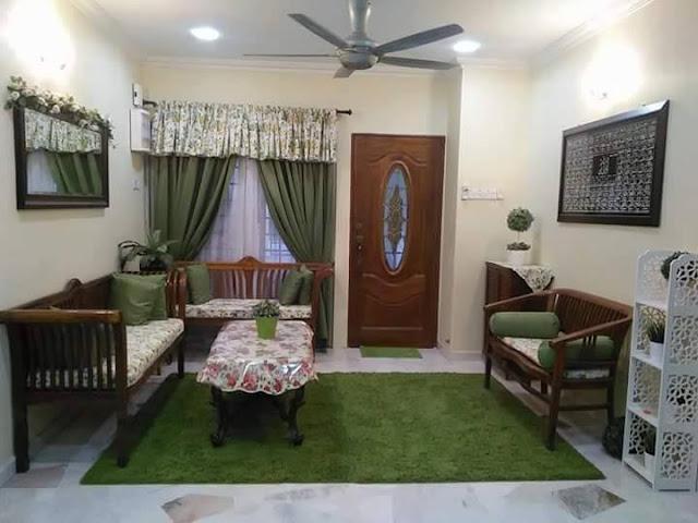 reka bentuk hiasan dalaman teres home interior design services AZLAN RUMADI