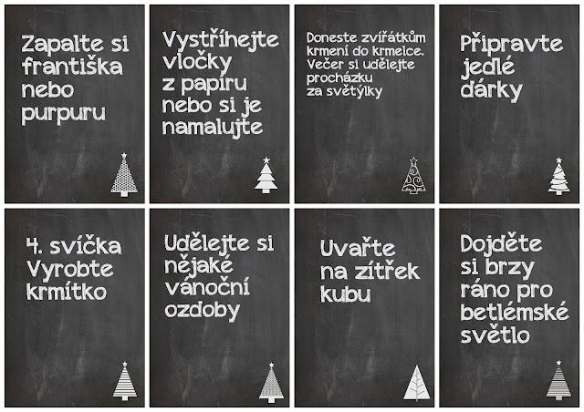 Adventní kalendáře zdarma od iKarkulka