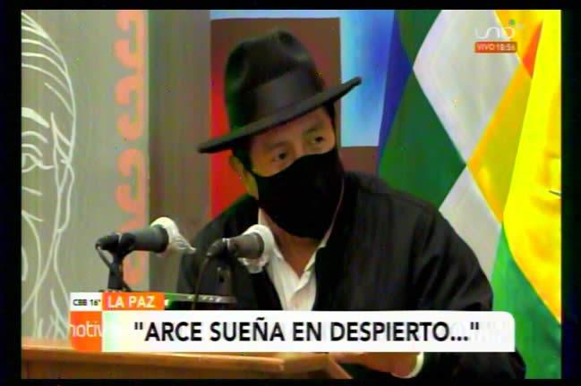 Rafael Quispe asegura que Luis Arce no ganará las elecciones; sueña despierto, dijo
