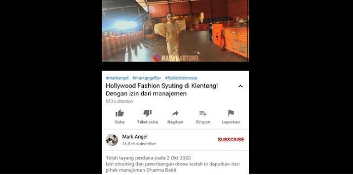 Ruang Ibadah Klenteng Dharma Bhakti Dipakai Syuting Fashion Show